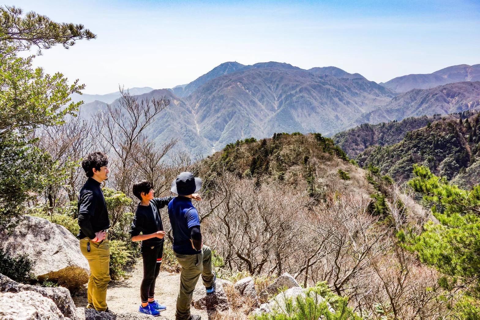 【11/23 (祝火)】親子で登山に挑戦企画! (三重県鈴鹿山脈「藤原岳」)